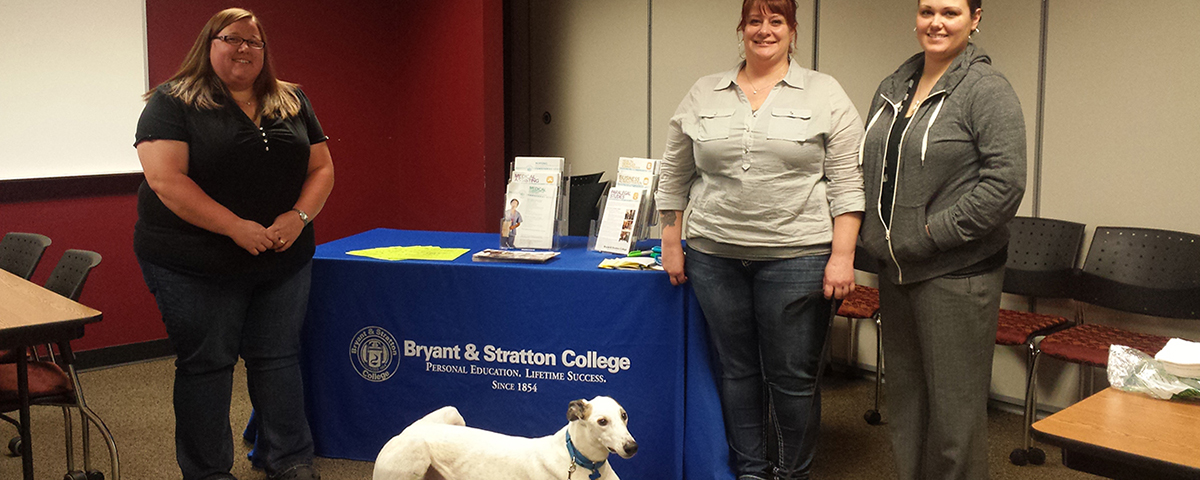 Pets Helps Bryant & Stratton College Students with Service Learning Project