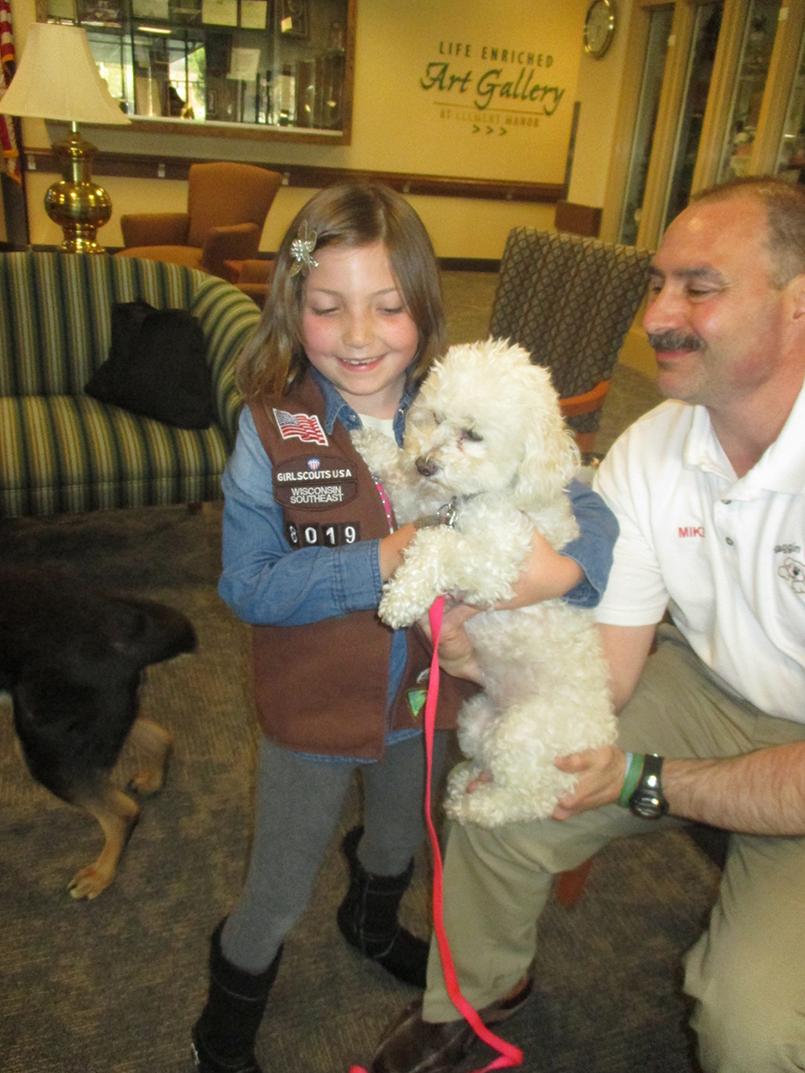 Mike Grassel and Phoebe