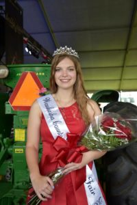 Sarah Stock of Mukwonago is the 2017 Fairest of the Fair. Stock is an active member of 4-H and Pets Helping People Inc. She hopes to attend veterinary school at UW-Madison to continue pursuing her love of animals.