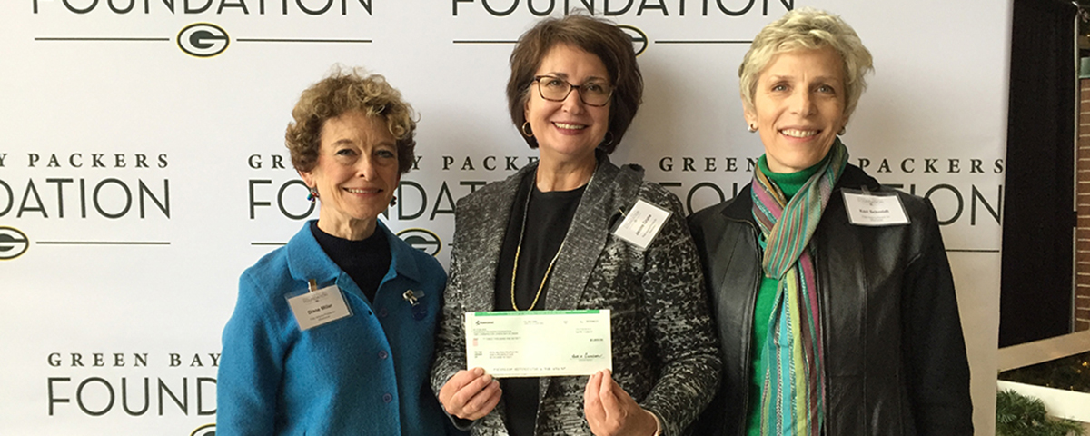 First Time Grant From the Green Bay Packers Foundation