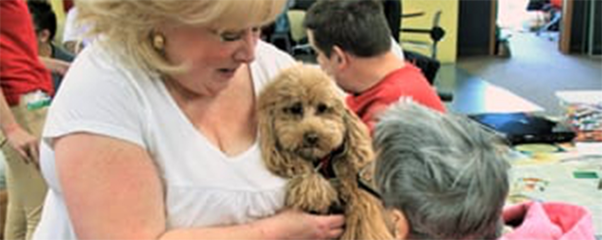 Pet therapy can benefit senior living residents